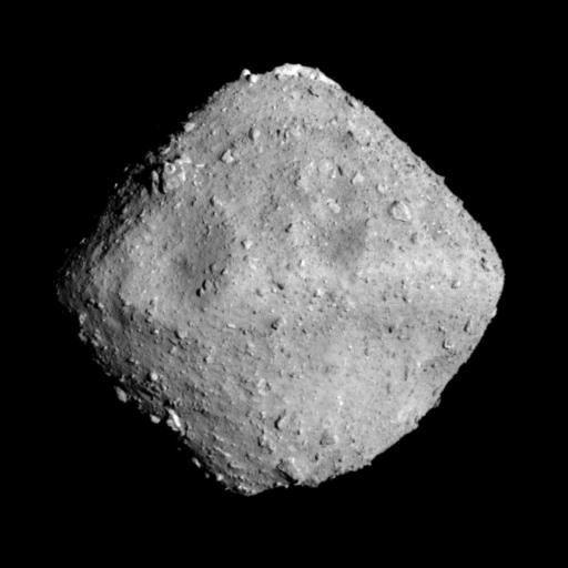 探査機「はやぶさ2」により撮影された小惑星Ryugu(2018.6.27)